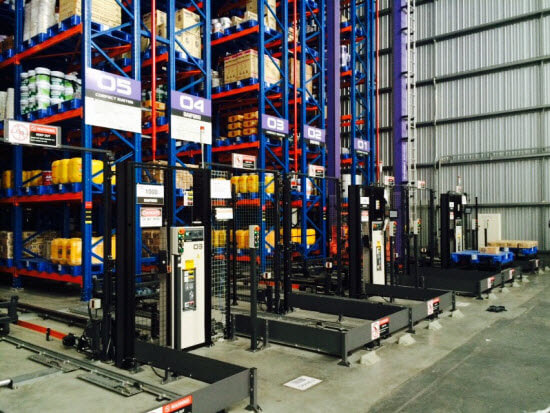 Automated Warehouse or ASRS at CDC Wangnoi
