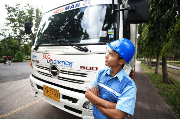 SCG Logistics' smart driver program