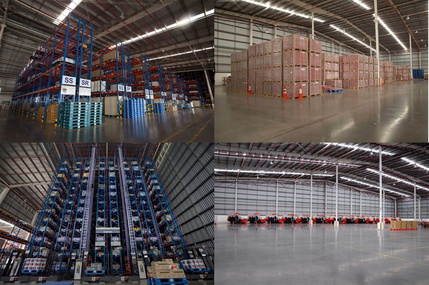 SCG Logistics Warehouse Management at CDC Wangnoi