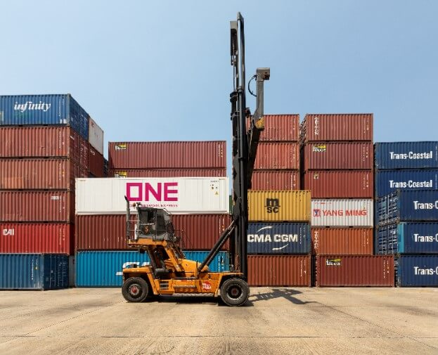 Container yard/Container freight station service