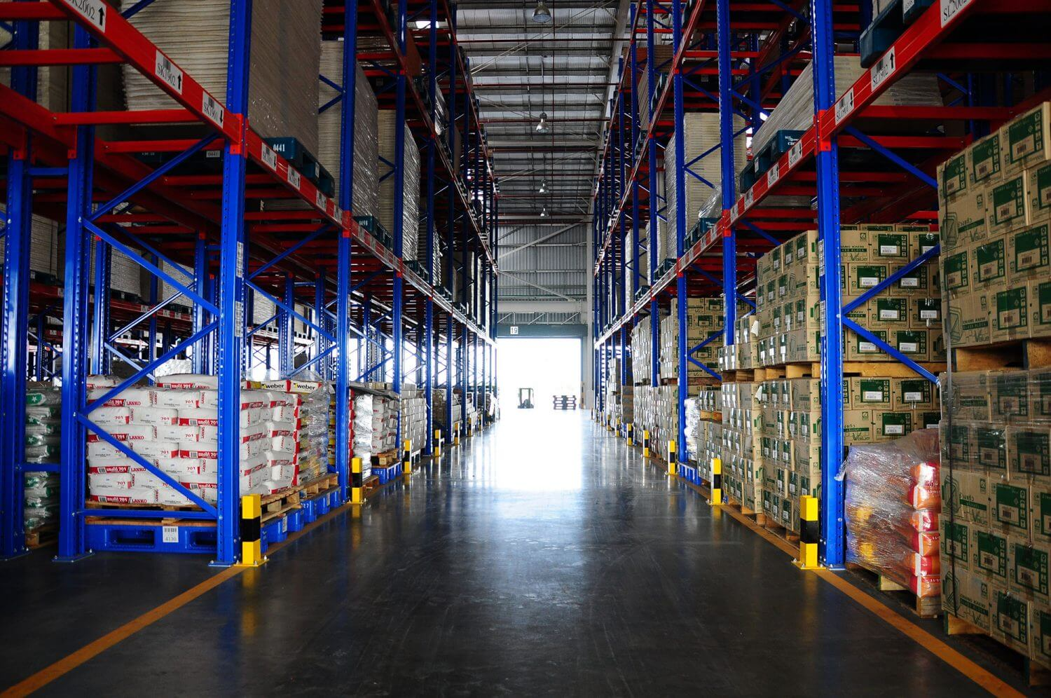 SCG Logistics' Warehouse Management service