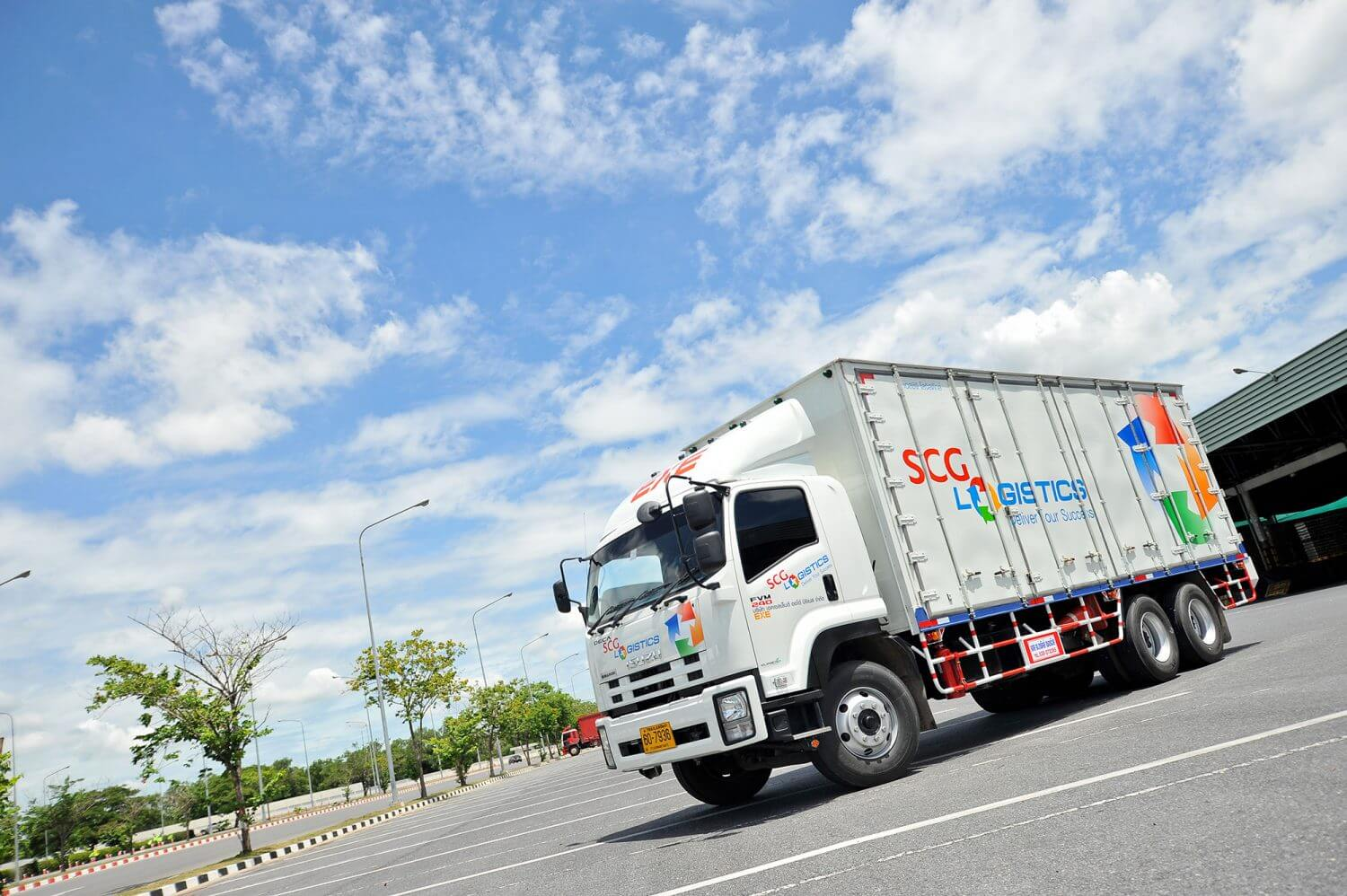 Less Than Truck Load transportation by SCG Logistics