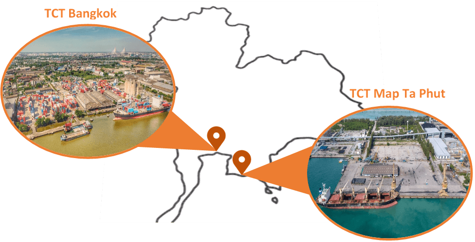 SCG Logistics Port Management Service Location