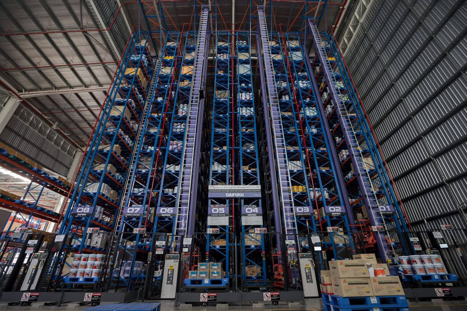 AS-RS or Automated Storage & Retrieval System