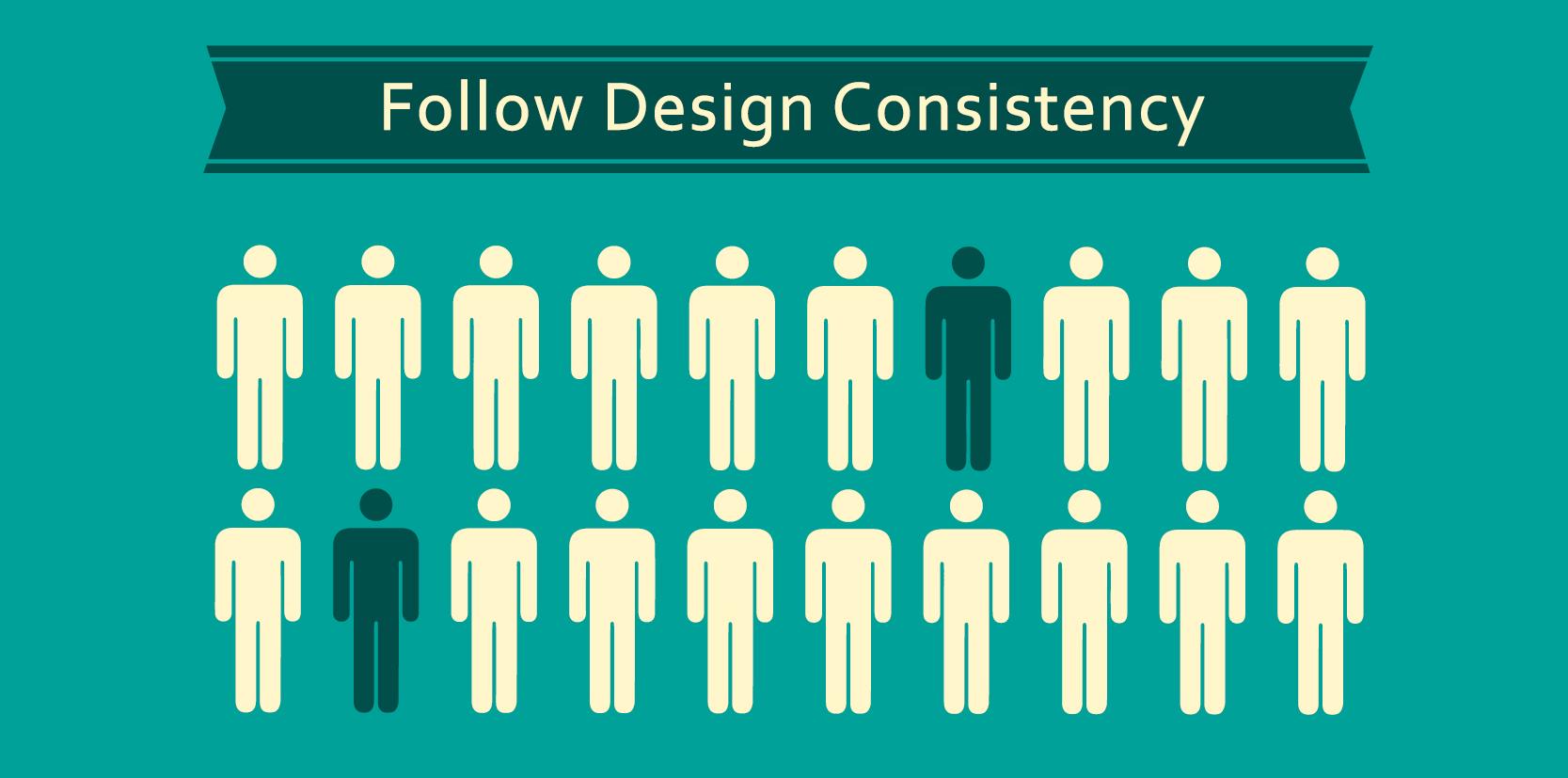 การออกแบบเว็บไซต์ที่มีความคงเส้นคงวา