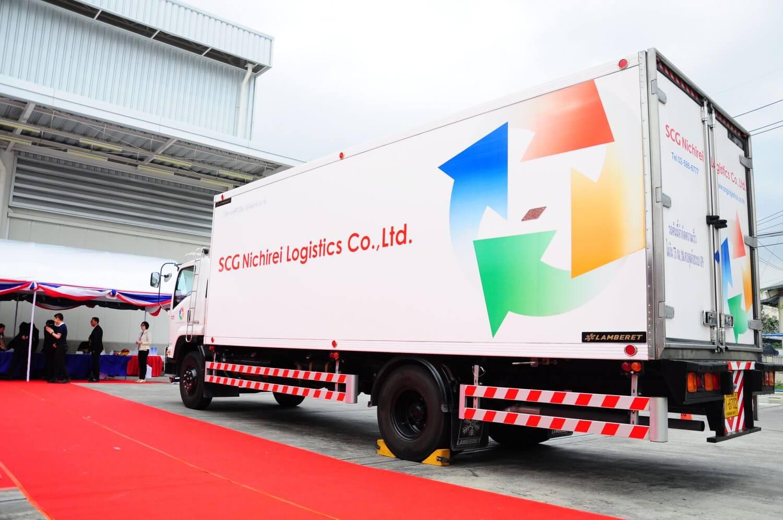 รถ ขนส่งสินค้าควบคุมอุณหภูมิ โดย SCG Nichirei Logistics