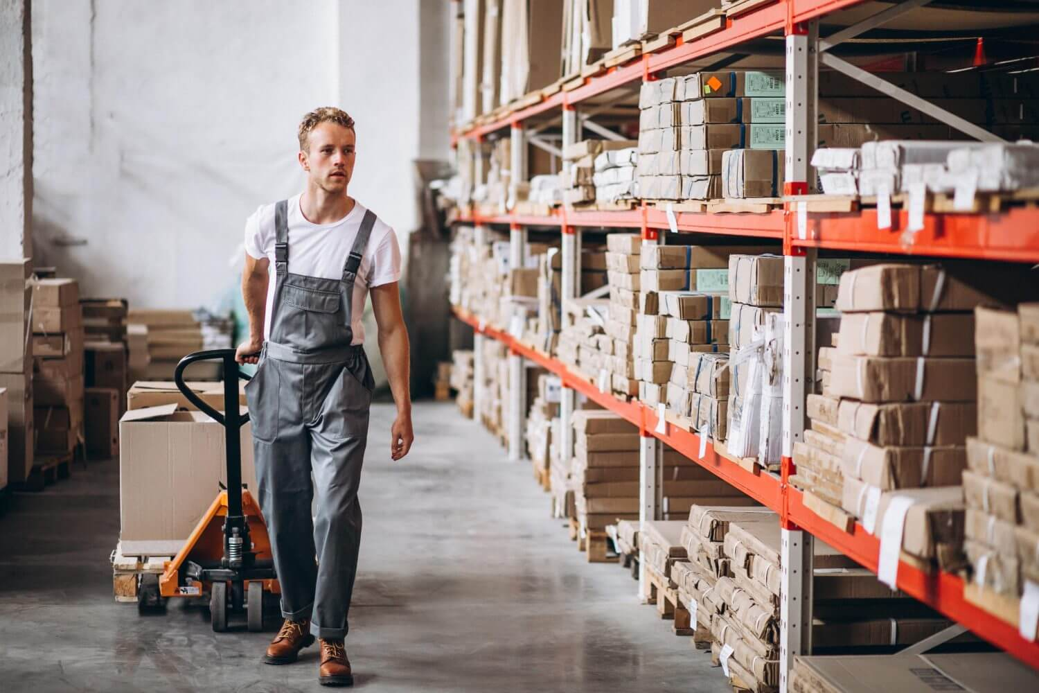 Just in time inventory management, a popular way to improve inventory management and cost.