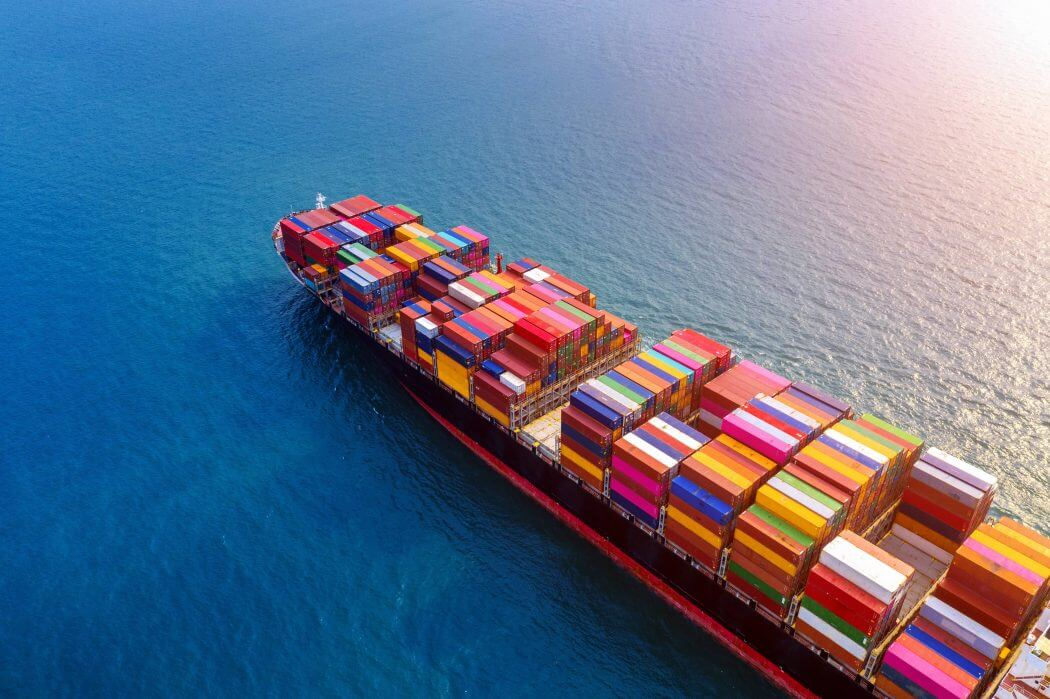 import-export container overseas