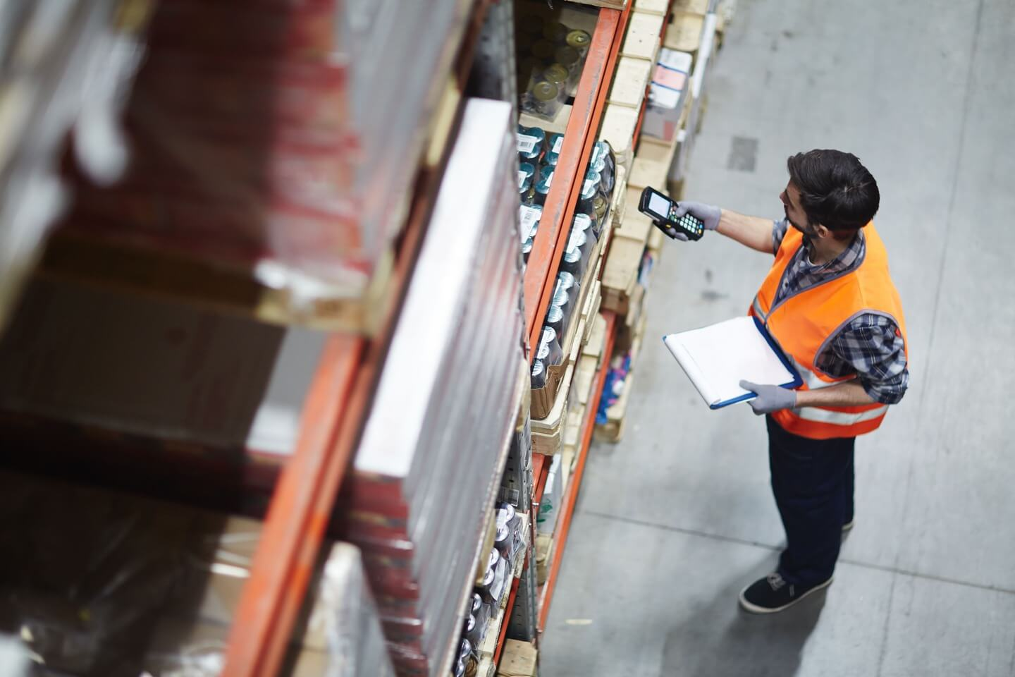 warehouse management sysytem facilitate workers to work easier