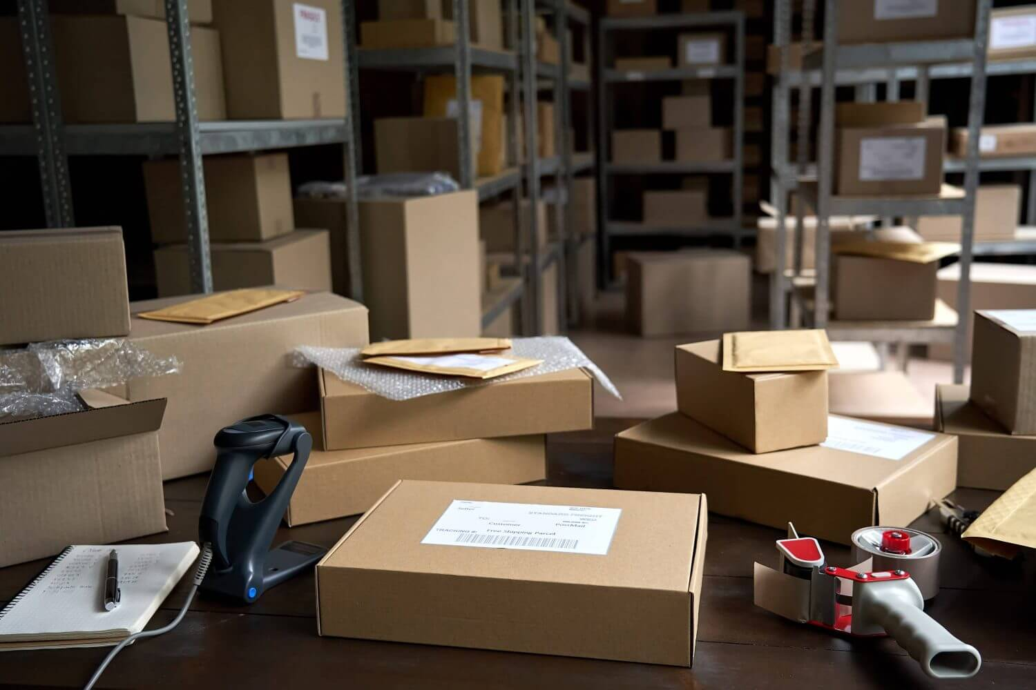 e-commerce businesses are suffering from overload orders and parcels.